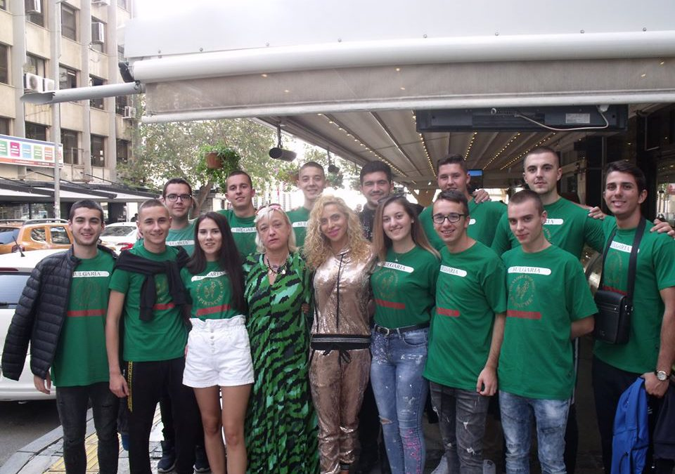 """ХІV-ия фолклорен фестивал """"Балкански игри"""" в Измир"""